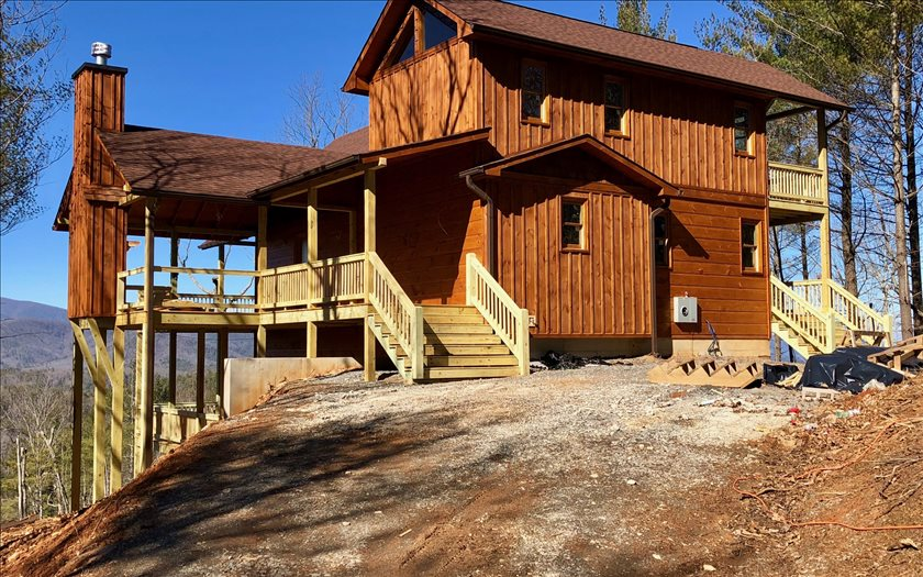 surrounding lots cabins acreage mountains realty homes the ridge blue and log finest georgia ga pin sale for north in mountain