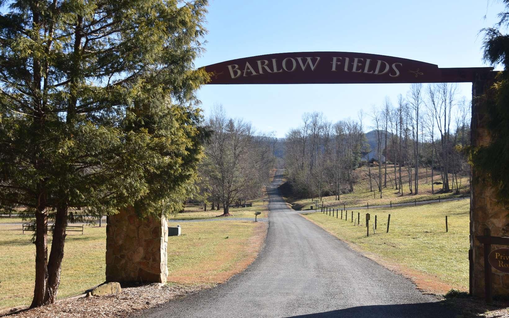 BARLOW FIELDS DRIVE