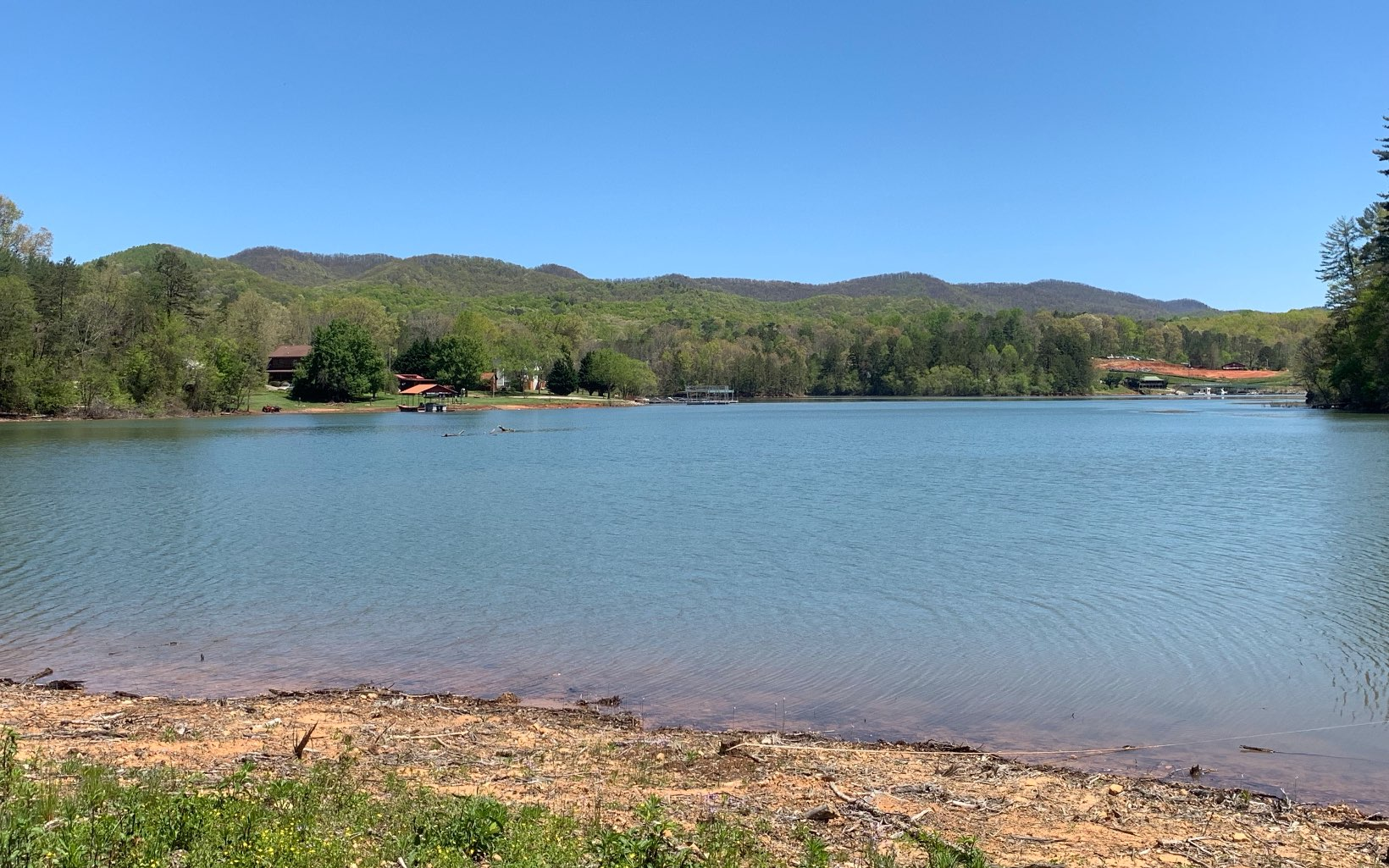 MLS #287227 - Best Lake Lot on the market! Approx  100 feet of