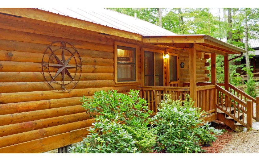 North Georgia Log Cabins for sale | North Georgia Mountain Realty ...