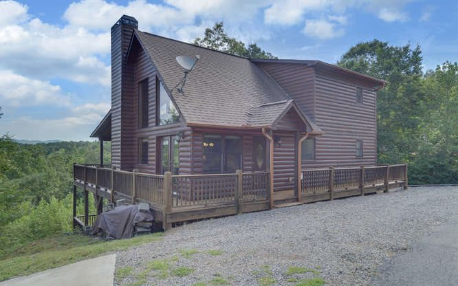 NC Mountain Home ,300 KNOB HILL ROAD,Marble,North Carolina 28905,view,cabins,mountain homes for sale