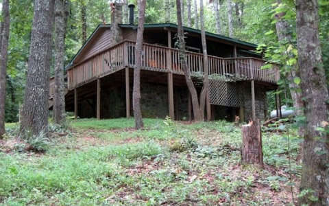 Just Listed: Fully Furnished Cabin with Great Rental Potential--$89,900