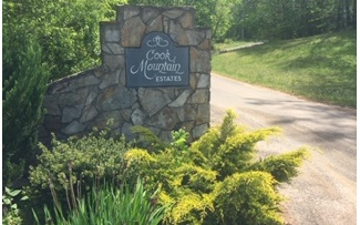 LOT 9  COOK MOUNTAIN DRIVE