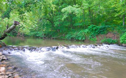 Own Both Side of the Trout Stream!--$349,900