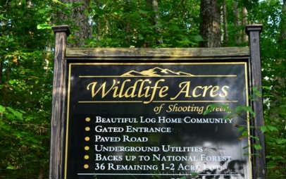 WILDLIFE ACRES, HAYESVILLE, NC