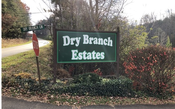 LOT 3  DRY BRANCH ESTATES