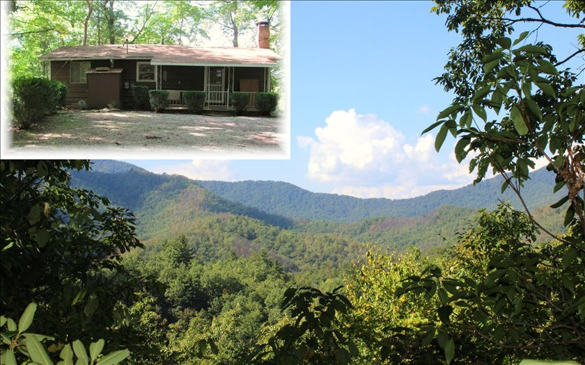 NC Mountain Home ,357 WILKES ROAD,Bryson City,North Carolina 28713,view,cabins,mountain homes for sale