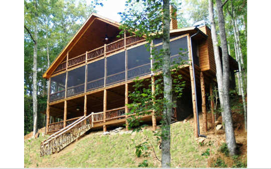2570  BLACK ANKLE CREEK RD, BLUE RIDGE, GA