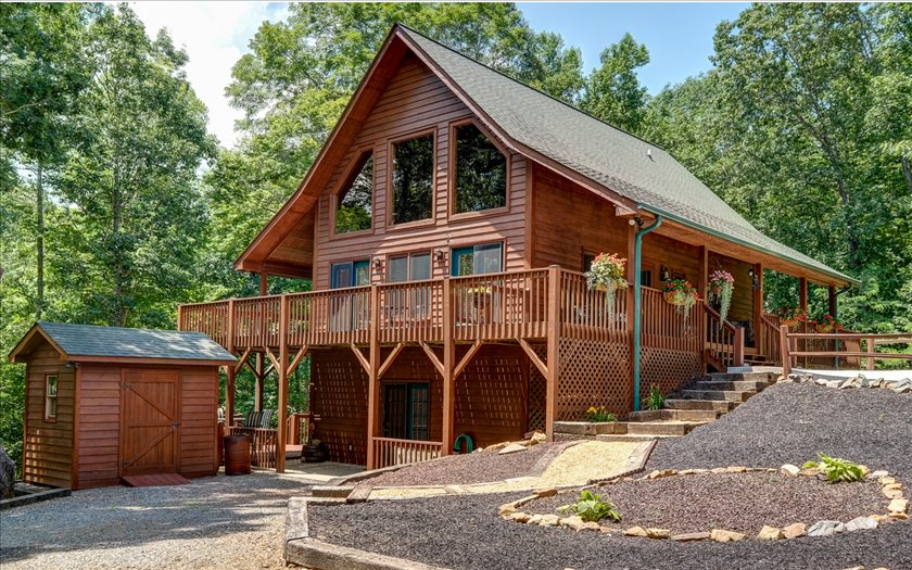 NC Mountain Home ,32 EDGEWOOD DRIVE,Murphy,North Carolina 28906,view,cabins,mountain homes for sale
